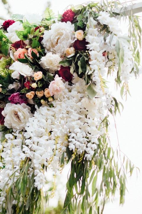Цветочная композиция на выездную церемонию