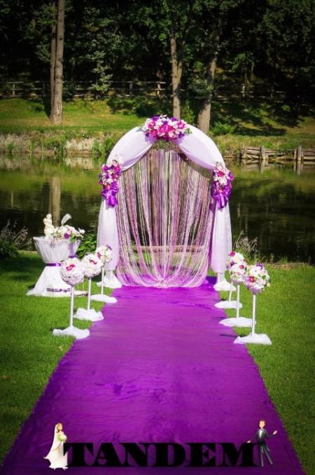 """Свадебная арка """"Орхидея"""""""