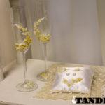 Свадебные аксессуары с лепкой - Roses Ivory