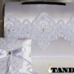 Свадебный сундук и подушечка