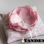 Подушка - Пиончик, розовая