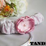 Подвязка - Пиончик, розовый
