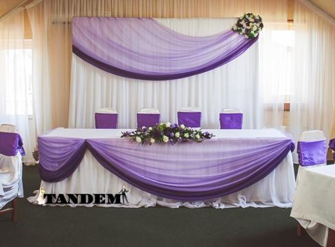 Ширма фиолет - искусственные цветы