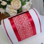 Свадебный сундук Elegant red