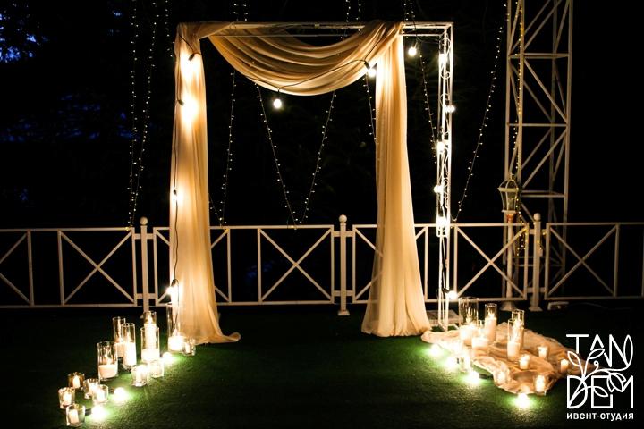 Ночная арка